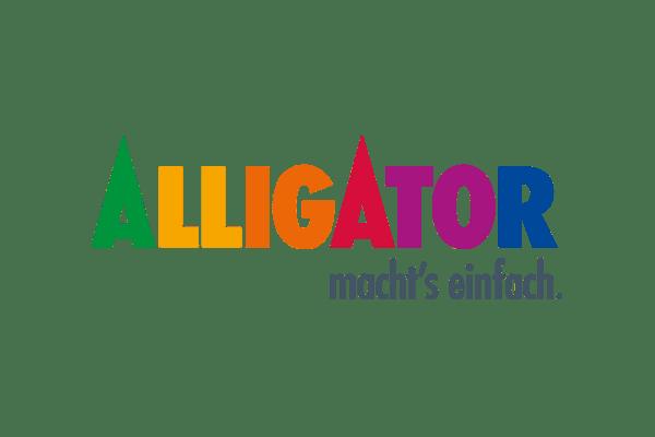 Alligator Macht's einfach